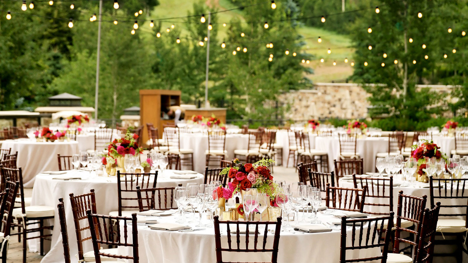 Outdoor Wedding Venue Photo Gallery: The St. Regis Deer Valley